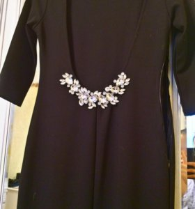 Новое черное платье,на выход,вечернее