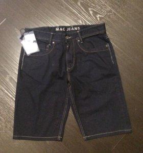 Шорты MAC новые джинсовые