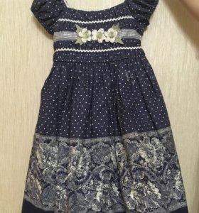 Платье для девочек 4-5 лет