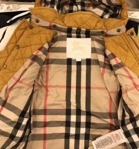 Куртки для мальчика Burberry, moncler