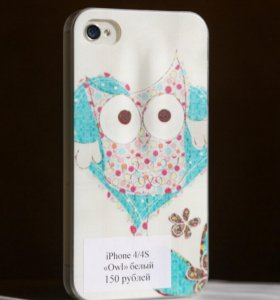 "Чехол на iPhone 4/4s ""Owl"""
