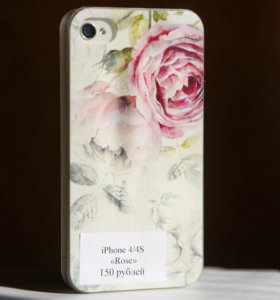 "Чехол на iPhone 4/4s ""Rose"""