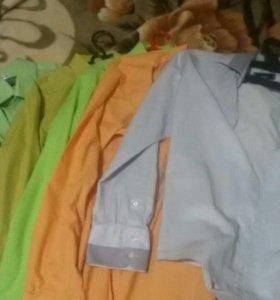 Рубашки для школы на подростка