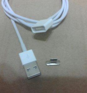 Магнито кабель usb android