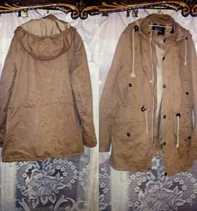 куртка парка мужская весеняя 46 размера
