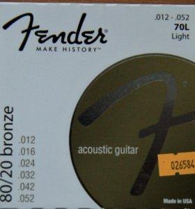 Струны для гитары Fender