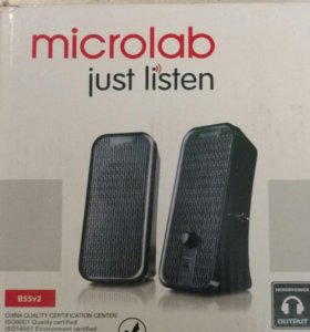 Колонки портативные (Акустика) Microlab B55v2