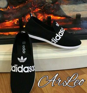 Кеды adidas чёрные