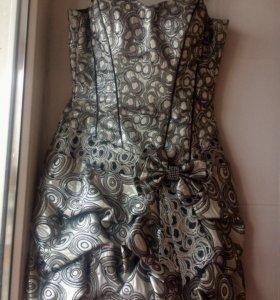 Платье с корсетом 42-44 🔺🔺🔺распродажа🔺🔺🔺