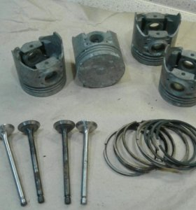 Поршни для двигателя с кольцами и клапанами ВАЗ