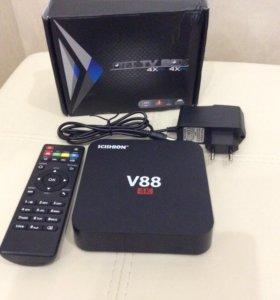 Медиаплеер TV Box на Android 5.1