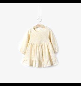Красивое платье для маленьких модниц на заказ