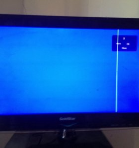 """Телевизор GOLD STAR 19"""" с небольшим дефектом"""