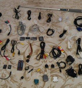 Кабеля. Разъёмы . Коннекторы. Зарядные устройства.
