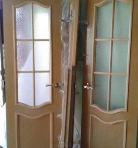 Дверь межкомнатная двухстворчатая
