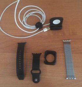 Ремешки, зарядка для Apple Watch