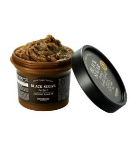 [SKINFOOD] Black Sugar Perfect Essential Scrub