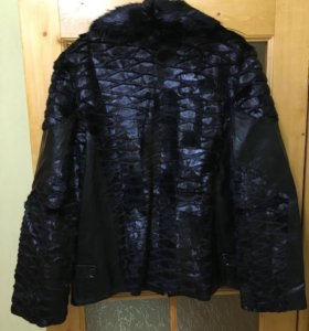 Куртка кожа-мех