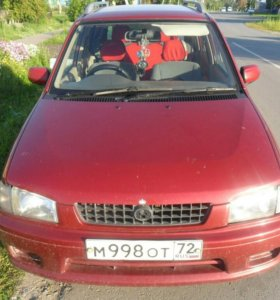 Mazda demio 1997 г