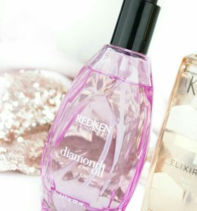 Redken Diamond oil Glow dry масло для волос