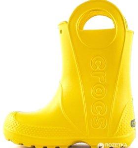 сапоги crocs