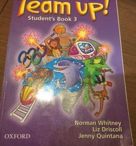 """Книга для изучения английского языка """"Team up!"""""""