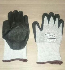 Перчатки для работы с тонкими режущими материалам