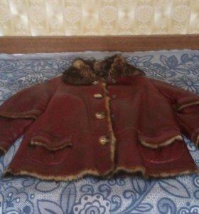 Кожаная куртка (осенняя)