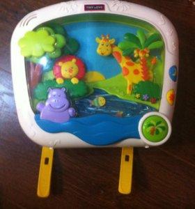 Детский анимационный-музыкальный телевизор