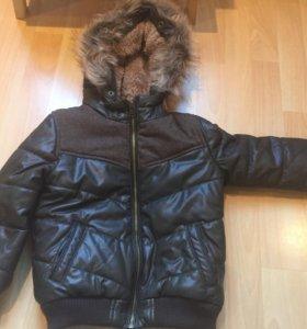 Куртка осень-весна, тёплая зима.