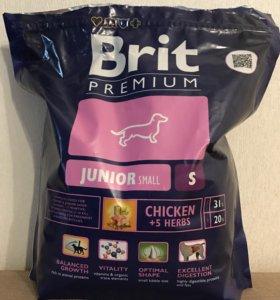 Корм Brit для собак маленьких пород 1кг