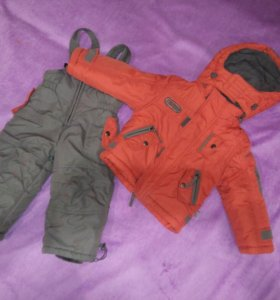Зимний комплект одежды рост 74-80