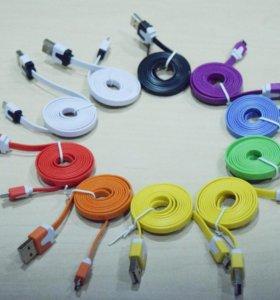 Ультра-прочный плоский кабель Micro USB