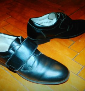 Ботинки, туфли фирмы Антилопа (кожа) 35 р-р