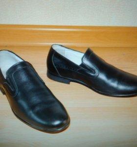 Ботинки кожа 36 р-р (новые)