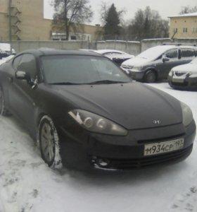 Автомрбиль хундай купе 2007 год