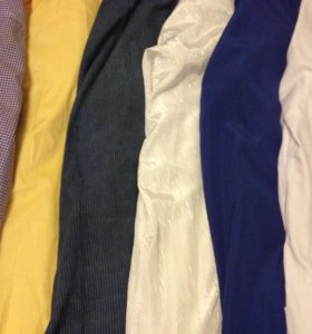 Рубашки мужские 6 шт. (с длин. рукавами)