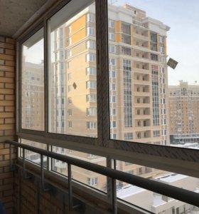 Окна для лоджии из алюминиевого профиля