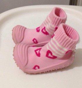 Пинетки ботинки детские