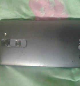 Телефон LG треснул экран не работает