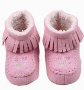 Новые весенние ботиночки пинетки
