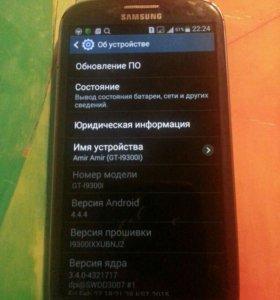 Продам Samsung Galaxy S3 Duos цвет синий