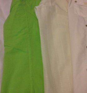 Рубашки мужские 4 шт. с короткими рукавами