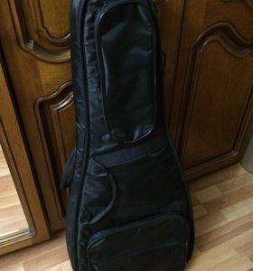 Большой утеплённый чехол для гитары