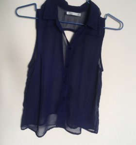 Шифоновая блузка 40-42