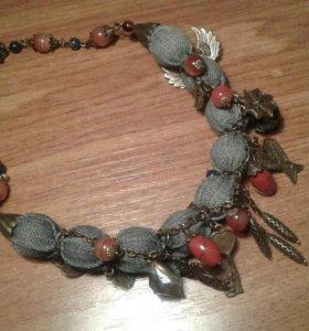 Ожерелье ручной работы. Бижутерия