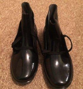 Ботинки резиновые р 41
