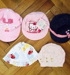 Панамки и кепки