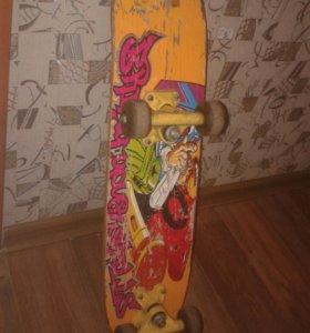 Скейтборд.