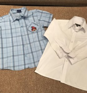 Рубашки для мальчика, размер 98